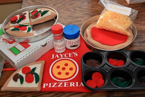 ערכת פיצריה למשחק