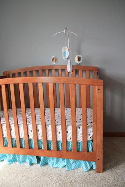 Crib skirt 4