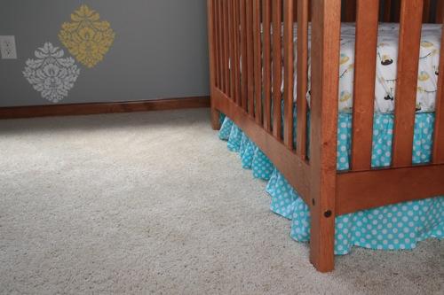 Crib skirt 7