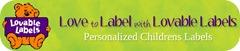 lovable labels banner