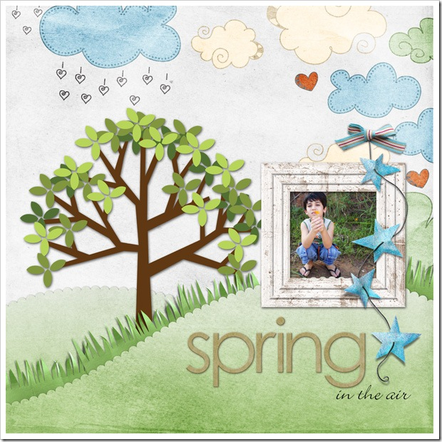 Spring Day - Exemplo Freebie