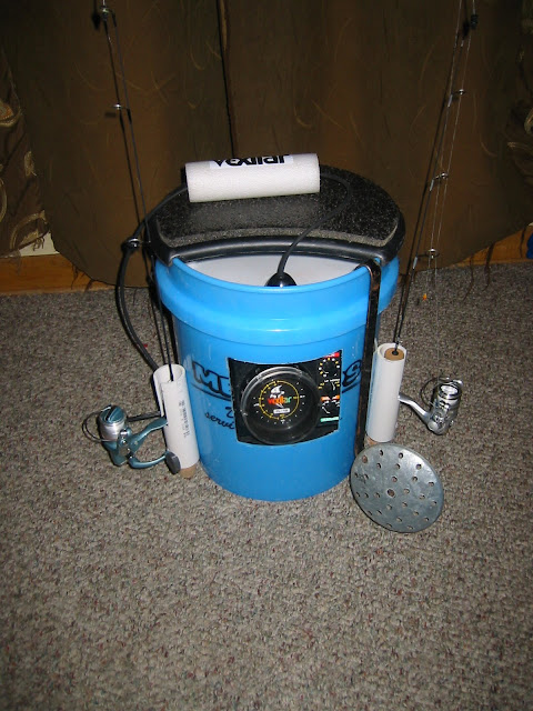Ice fishing bucket for Ice fishing bucket