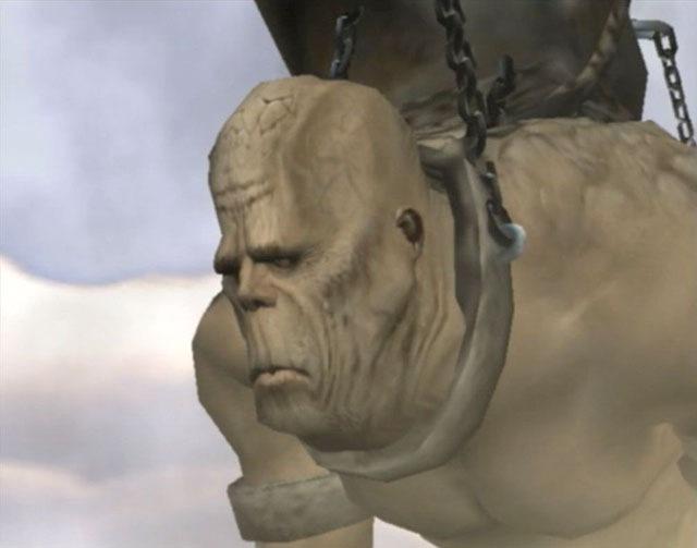 O deus titã escravizado
