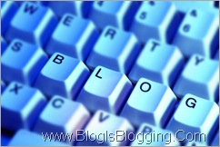 blog is blogging