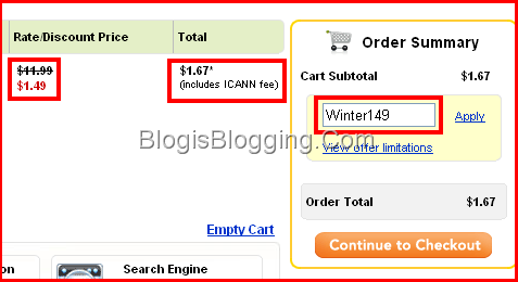 Godaddy Coupon Code Winter149