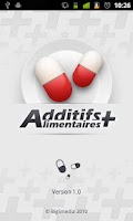 Screenshot of Additifs Alimentaires +