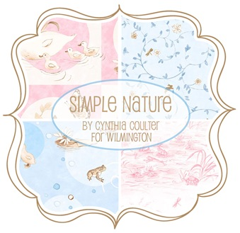 Simple Nature by Cynthia Coulter for Wilmington Prints