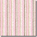 Simple Nature - Circle Stripe Pink #42282-132