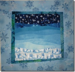 background winter mini