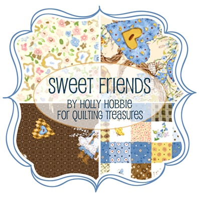 Sweet Friends by Holly Hobbie for Quilting Treasures