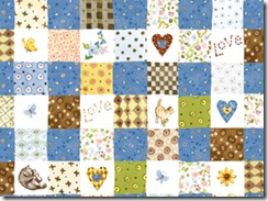 Sweet Friends - Patchwork #20873-B