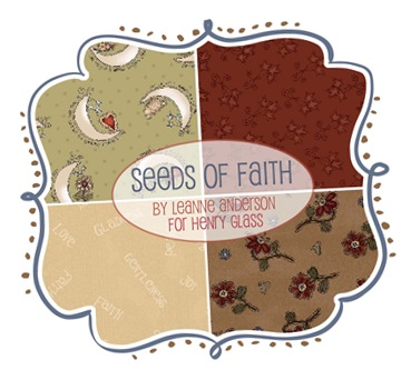 Seeds of Faith by Leanne Anderson for Henry Glass