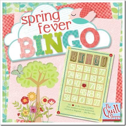 spring fever bingo hangtag