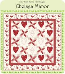 Chelsea Manor Quilt Red