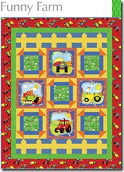 Funny Farm Quilt Kit
