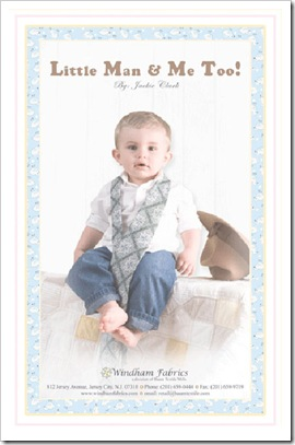 Little Man & Me, Too!  by Jackie Clark for Windham