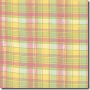 Spring Magic Lurex Aqua/Yellow/Pink Plaid 12610-18