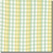 Spring Magic Lurex Ylw/Aqua Plaid 12610-14
