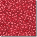 Winter Friendships - Hearts Red 1731-0111