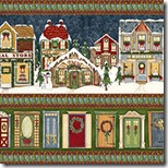 Village Charm - Repeating Stripe #76270-400