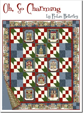 Oh, So Charming Quilt Kit by Robin Betterley
