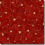 Village Charm - Stars Dk. Red #76277-335