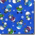 Winter Joy - Snowman Toss Blue #219-1