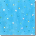 Winter Joy - Small Snowflakes/Stars Aqua #221-2