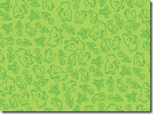 The Poky Little Puppy - Puppy Tonal Green #20820-G