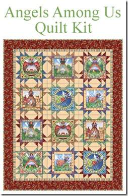 Angels Among Us Quilt Kit