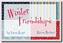 Winter Friendships by Teresa Kogut for Marcus Bros.