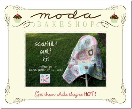 Scruffily Quilt Kit