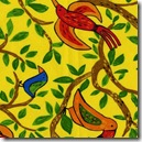 Safari So Good - Birds on Vine Yellow #432Y