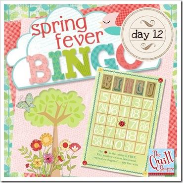 Spring Fever Blog Bingo Day 12