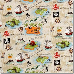 Pirates - Treasure Map #488-1