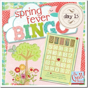 Spring Fever Blog Bingo - Day 15