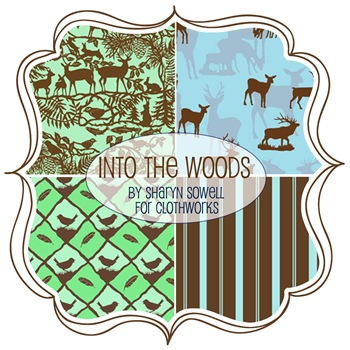 Into the Woods by Sharyn Sowell for The Quilt Shoppe