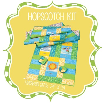 Hopscotch Floor Quilt