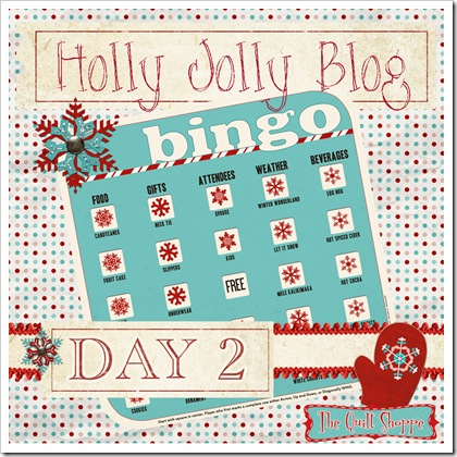 Holly Jolly Blog Bingo ... Day Two