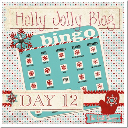 Holly Jolly Blog Bingo ... Day 12
