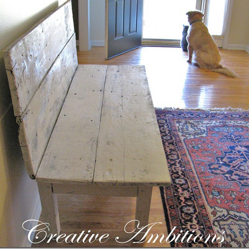 Farmhouse Entrance Bench