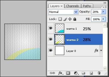 mengubah opacity layer