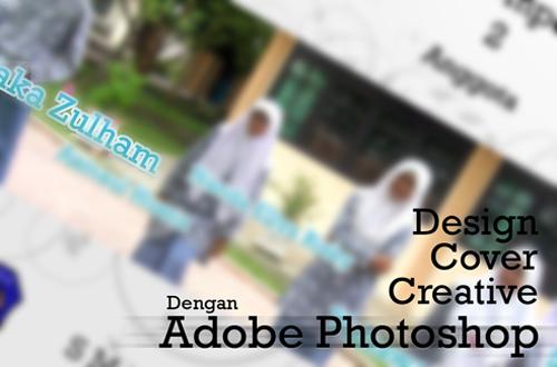 Desain cover kreatif dengan photoshop