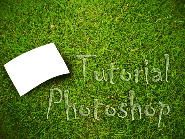 tutorial photoshop - gaussian blur 2