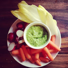 Simple Minted Pea Dip