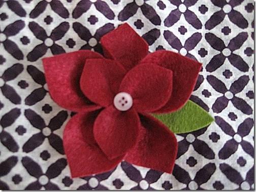 broche fieltro flor de pascua (2)
