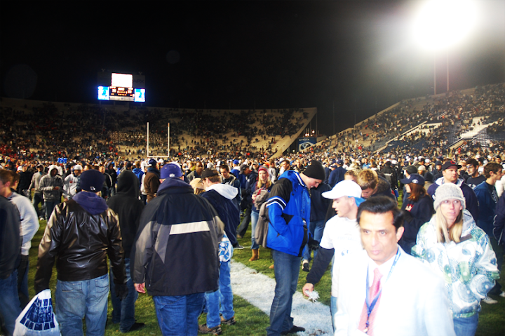 Storming the Field