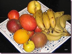 fruits carré