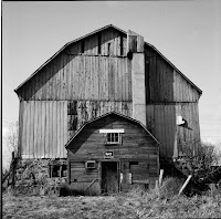 Date: 2008</p> <p>Location: Outside Toronto</p> <p>Story: Progress decrees that this lovely old barn is part of our disappearing history. Enough said.