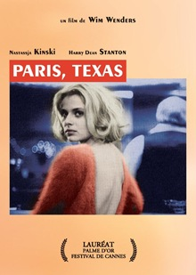 Poster Paris, Texas